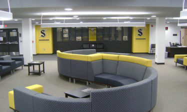 study area in leanring center educational project on berks catholic