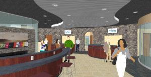 fleetwood bank mockup of renovation