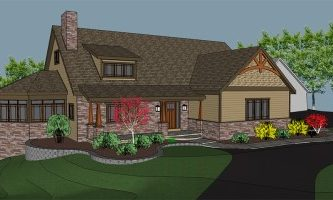 Watkins Architect provided architectural design services for a home in Fleetwood pa.